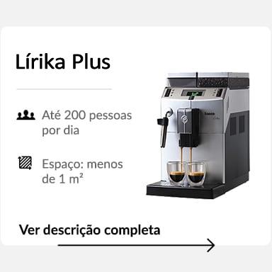 Máquina de café Lírika Plus